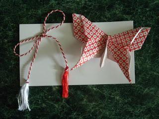 Origami Martisor